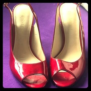 Enzo Angiolini Candy-Red Heels 👠